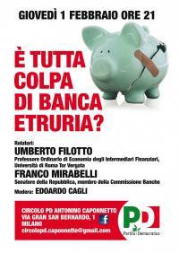 E' tutta colpa di Banca Etruria?