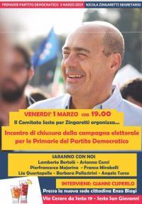 Chiusura della campagna per Zingaretti - Sesto San Giovanni
