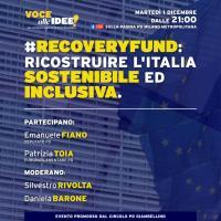 Recovery fund: ricostruire l'Italia sostenibile ed inclusiva