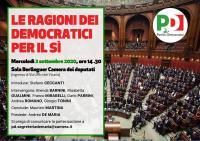 Le ragioni dei Democratici per il Sì - Roma