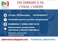 Incontro PD a Nerviano