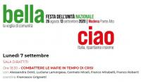 Combattere le mafie al tempo di crisi - Festa Nazionale dell'Unità Modena Ponte Alto