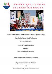 Agenda per l'Italia e Governo nazionale - Motta Visconti