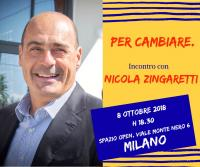 Per Cambiare - Nicola Zingaretti a Milano