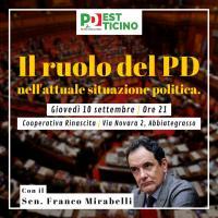 Il ruolo del PD nell'attuale situazione politica - Abbiategrasso