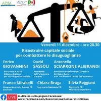 Ricostruire capitale sociale per combattere le disuguaglianze