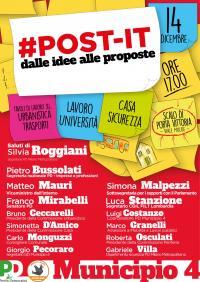 Post-it dalle idee alle proposte - Milano