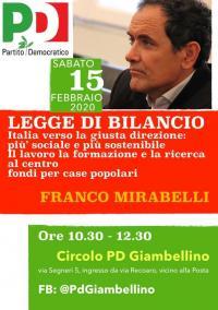 La legge di bilancio - Giambellino, Milano