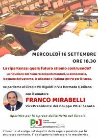 La ripartenza: quale futuro stiamo costruendo? - Milano