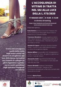 L'accoglienza di vittime di tratta nel SAI alla luce della legge 173/2020