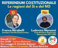 Confronto sul referendum