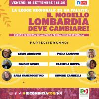 La legge regionale 23 ha fallito: il modello Lombardia deve cambiare!