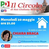 Incontro virtuale con Chiara Braga e il Circolo PD di San Giuliano Milanese