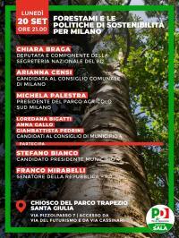 Forestami e le politiche di sostenibilità per Milano