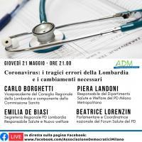 Coronavirus: i tragici errori della Lombardia e i cambiamenti necessari
