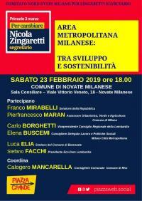 Area Metropolitana Milanese: tra sviluppo e sostenibilità - Novate Milanese