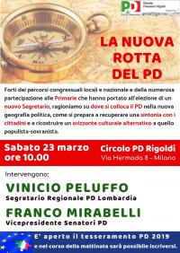 La nuova rotta del PD - Milano