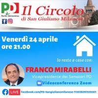 Incontro virtuale con Franco Mirabelli e il Circolo PD di San Giuliano Milanese
