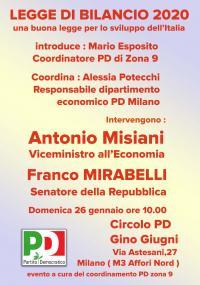 Legge di Bilancio 2020 - Milano