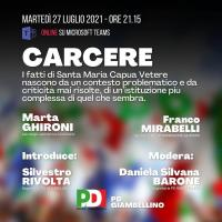 Videoconferenza: Carcere. I fatti di Santa Maria Capua Vetere.