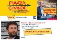 Dario Franceschini a Brescia