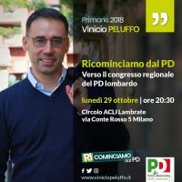 Ricominciamo dal PD - Vinicio Peluffo