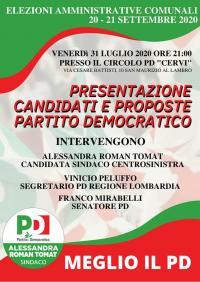 Incontro elettorale a Cologno Monzese
