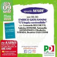 Festa PD Milano: L'Utopia sostenibile