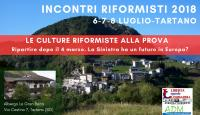 Incontri Riformisti 2018 - Tartano (SO)
