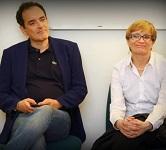 Sara Valmaggi e Franco Mirabelli